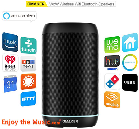Linkplay Technology Releases Wi-Fi Audio Speaker Solution With Amazon Alexa Speech Recognition And Handsfree Control