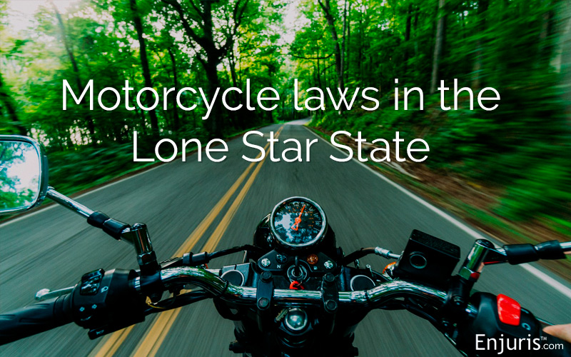 Texas Motorcycle Laws What Every