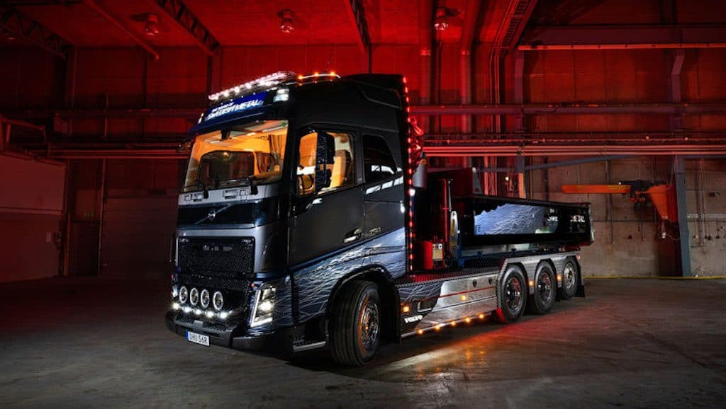 Volvo_Trucks Swedish Metal Truck