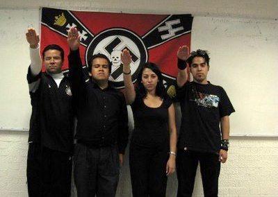Resurgen en México grupos fascistas y nazis, algunos financiados por militantes panistas y otros por el Ku Klux Klan