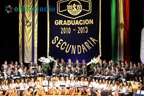 Graduación de Secundaria de la generación 2010 – 2013 del Colegio Hebreo Monte Sinaí
