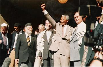 Mandela y su amistad con el pueblo judío