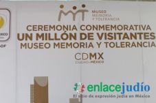 ENLACE JUDIO - VISITANTE 1 MILLON AL MUSEO MEMORIA Y TOLERANCIA (15)