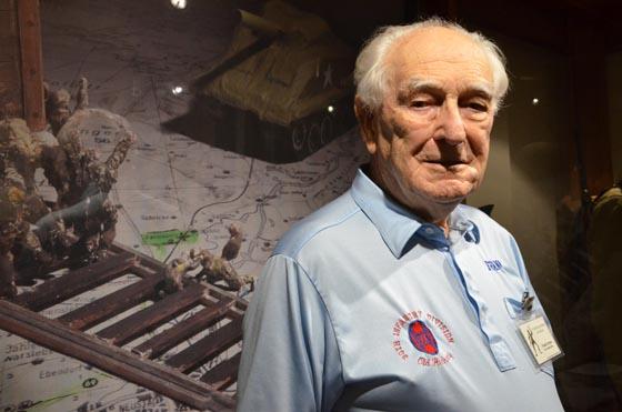 World War II veteran and Camp Blanding Museum volunteer Frank Towers. Photo by Master Sgt. Thomas Kielbasa