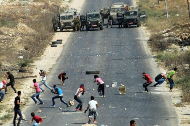 alborotos palestinos