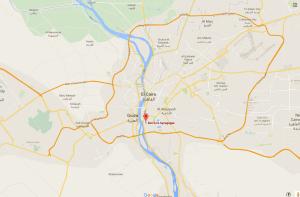 Google Maps: Sinagoga Ben Ezra en el Cairo Genizá, Egipto.