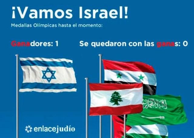 ¡Vamos Israel!