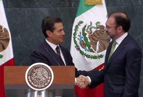 Regresa Luis Videgaray al gabinete de Enrique Peña Nieto