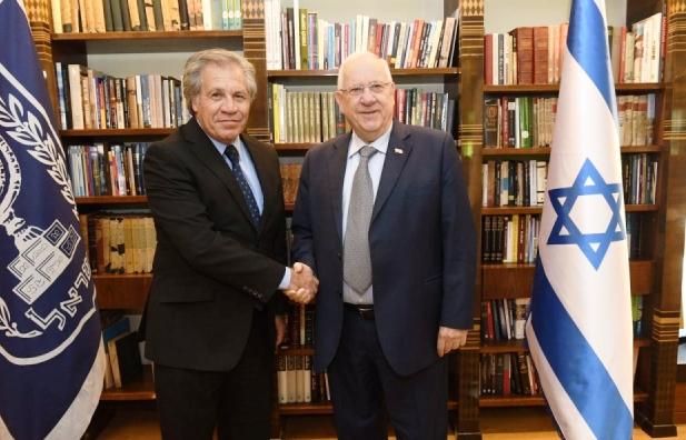 """Almagro: """"Israel representa un increíble ejemplo de un pueblo superando dificultades extraordinarias"""""""