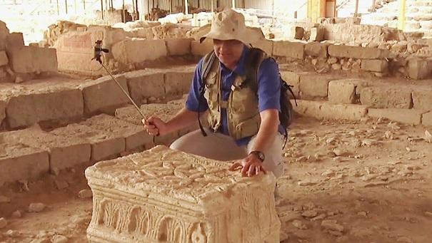 Exhibirán por primera vez en México una réplica de la piedra de Magdala