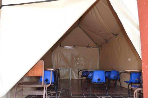 Cuernavaca. Comunidad judía dona aulas móviles para alumnos de escuela dañada por el sismo