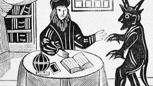 Satan de los Judios, Artista Medieval - Libro de Job
