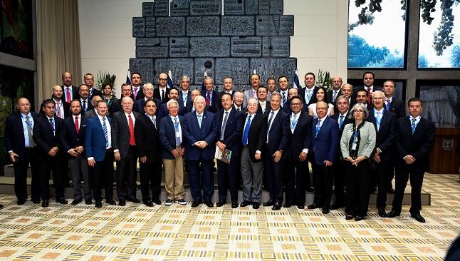 Consejeros de Bancomer pertenecientes a la comunidad judía realizan Misión Comercial a Israel