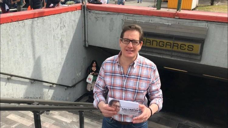 Salomón Chertorivski inicia volanteo por la Ciudad de México
