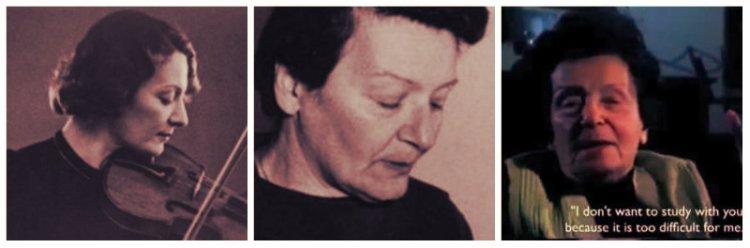 Ilona Feher, de los últimos representantes de la Escuela de Violín de Europa Central