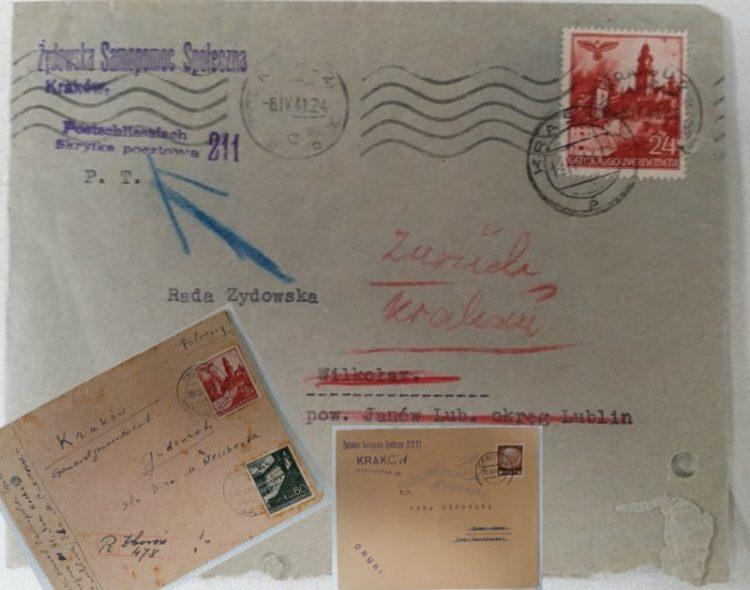 Sobres que revelan el apoyo polaco a los nazis durante la Segunda Guerra Mundial
