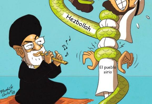 Caricatura: al son de Irán