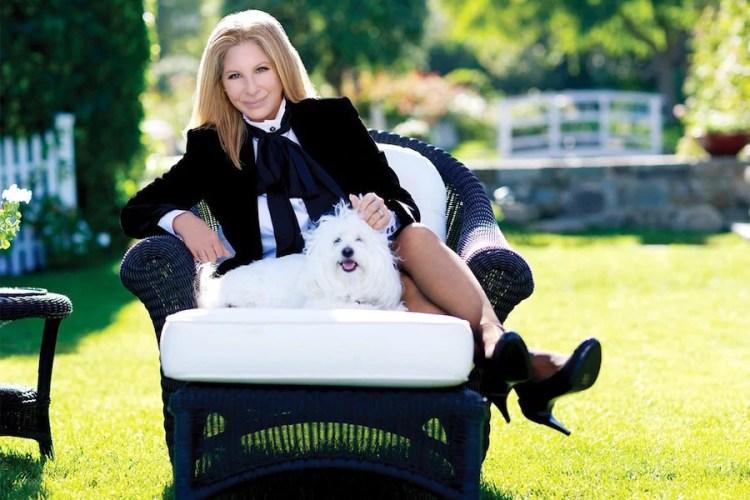 ¿Más valen dos que uno? Barbra Streisand clonó a su mascota