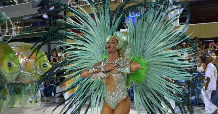 La judía británica Samantha Montner hace historia en el Carnaval de Rio