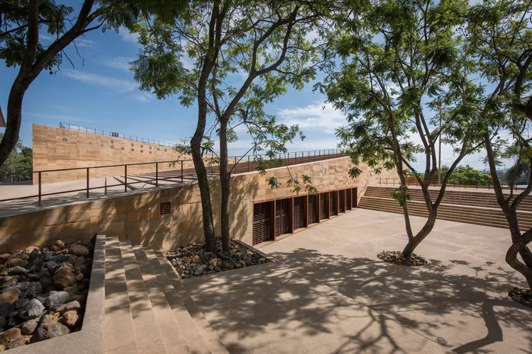 Abre en Cuernavaca el Centro Cultural Teopanzolco, obra del arquitecto judío mexicano Isaac Broid Zajman