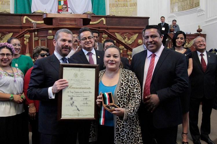 Medalla al Mérito por la igualdad y no discriminación a Luis Wertman, del Consejo Ciudadano