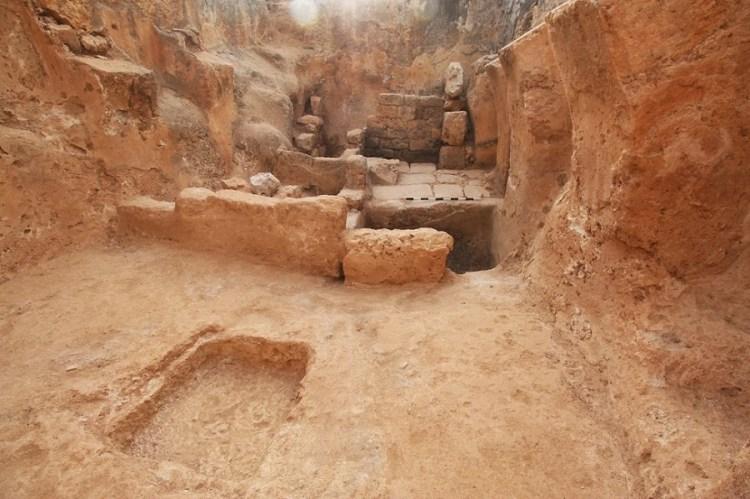 Descubren antigua prensa de vino bizantina al norte de Israel