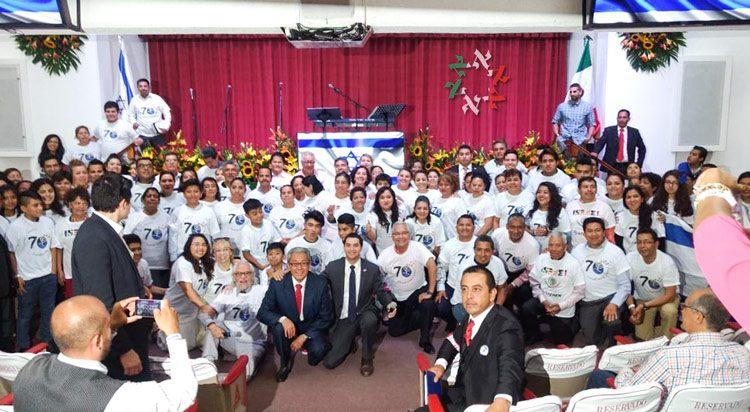 Puebla, México, celebra el Aniversario de la Independencia de Israel