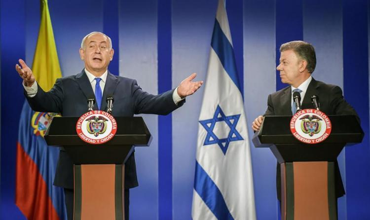 """Israel: una sorpresa y una """"bofetada"""" decisión de Colombia sobre Palestina"""