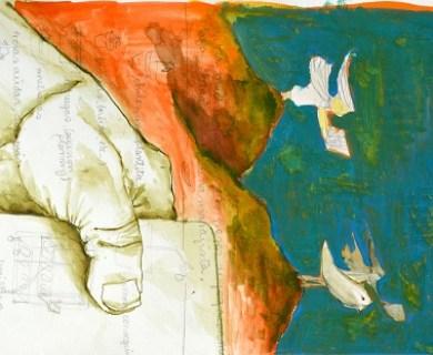 """""""El arte significa ver con el corazón y hablar con el lápiz"""": Susana Levy"""