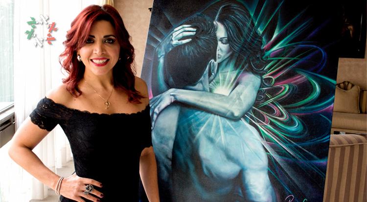 Raquel Cheja: arte y Cabalá en un mismo lienzo