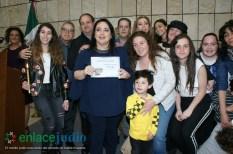 11-DICIEMRE-2018-GRAN EVENTO DE JANUCA E INAGURACION DE ESCULTURA LA FLAMA ETERNA DE LEONARDO NIERMAN EN EL CENTRO MAGUEN DAVID-27