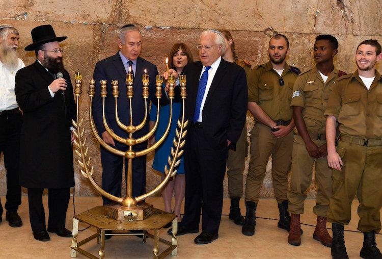 Netanyahu y Friedman conmemoran reconocimiento por EE.UU. de Jerusalén como capital de Israel