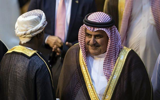 Ministro de Exteriores de Bahrein: no está previsto que Netanyahu visite el reino del Golfo