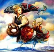 Boris shapiro - Pintor Judio Surreal - Arte - enlace judio - 4