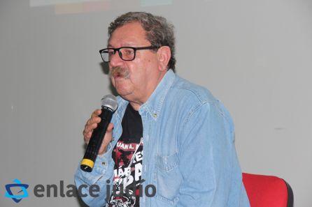 27-09-2019-FILJU CONFERENCIA PACO IGNACIO TAIBO MORDEJAI ANIELEVICH Y EL LEVANTAMIENTO DEL GUETO DE VARSOVIA 1