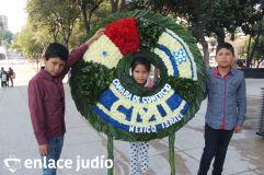 19-11-2019-OFRENDA EN EL MONUMENTO DE LA REVOLUCION POR PARTE DE LA CAMARA DE COMERCIO MEXICO ISRAEL 1