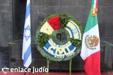 19-11-2019-OFRENDA EN EL MONUMENTO DE LA REVOLUCION POR PARTE DE LA CAMARA DE COMERCIO MEXICO ISRAEL 10