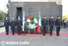 19-11-2019-OFRENDA EN EL MONUMENTO DE LA REVOLUCION POR PARTE DE LA CAMARA DE COMERCIO MEXICO ISRAEL 17