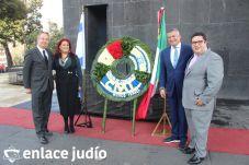 19-11-2019-OFRENDA EN EL MONUMENTO DE LA REVOLUCION POR PARTE DE LA CAMARA DE COMERCIO MEXICO ISRAEL 26
