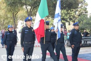 19-11-2019-OFRENDA EN EL MONUMENTO DE LA REVOLUCION POR PARTE DE LA CAMARA DE COMERCIO MEXICO ISRAEL 33