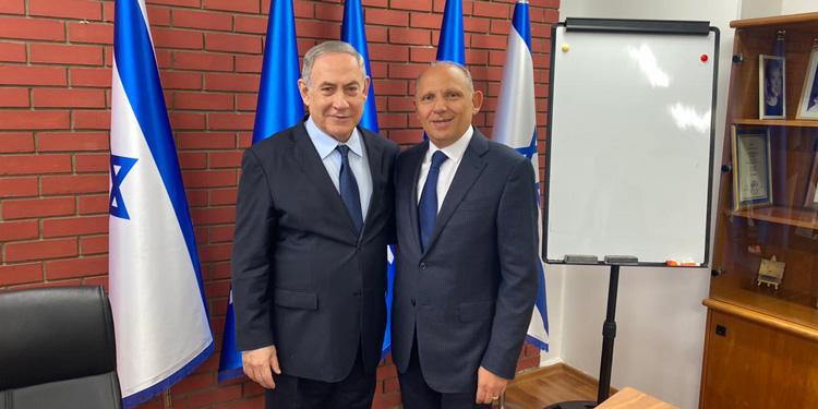 Isaac Assa, presidente de ILAN, se reúne con Benjamín Netanyahu - Enlace Judío