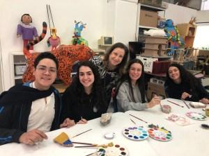 Alumnos de la Yavne participan en Fragmentos de significado