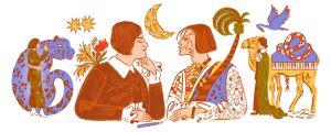 El Doodle dedicado a la poeta judía Else Lasker-Schuler