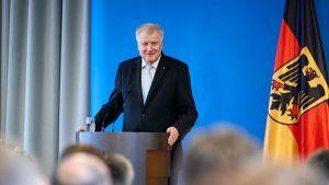 Horst Seehofer, ministro del Interior alemán