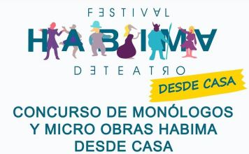 """A partir del 24 de mayo hasta el 1 de junio se presentará vía Zoom en tiempo real el concurso de monólogos y micro obras """"Habima desde casa""""."""