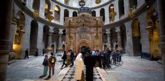 La Iglesia del Santo Sepulcro en Jerusalén abrirá el domingo por primera vez en dos meses, la entrada se limitará a 50 personas y deben usar cubrebocas