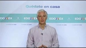 Alfredo Del Mazo Maza, informó que la entidad continúa en semáforo rojo, por lo que no se regresará a las actividades la próxima semana