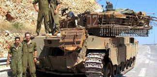 """Cómo el Primer Ministro de Israel ordenó la operación """"Paz para la Galilea"""" y el 6 de junio de 1982 el ejército israelí penetró en territorio libanés"""