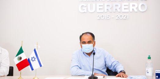 Israel entrega ayuda humanitaria para la población de Guerrero