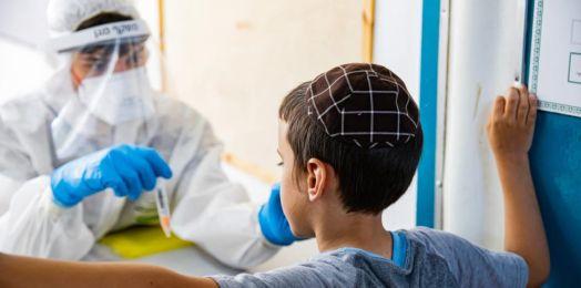 Registra Israel 1,335 nuevos casos de coronavirus en este día